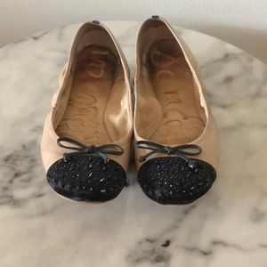 ⭐️Sam Edelman Flats with decorative toe